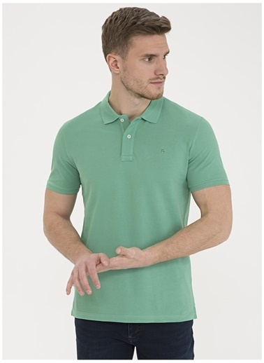 Pierre Cardin Pierre Cardin Erkek Yeşil T-Shirt Yeşil